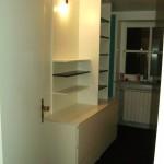 Schlafzimmer Einbau als Raumteiler und TV