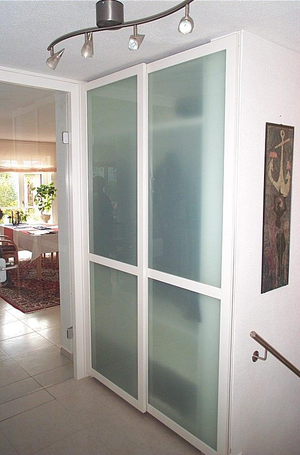 Einbauschränke Glastür