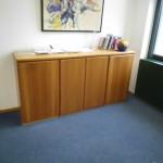 Bürosideboard in BUche gedämpft