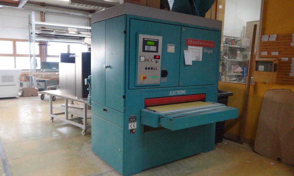 Breitbandschleifmaschine Schreinerei Reimann München